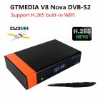 GTMedia V8 Nova DVB-S2 Freesat Satellite Receiver H.265 Built-in WIFI TV Box AU plug