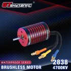 GTSKYTENRC 2838 KK Series Brushless Waterproof Motor for 2s/3s 1/14 1/16 Rc Car 4700KV