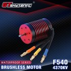 GTSKYTENRC F540 Series 2-3S Brushless Waterproof 4370KV Motor for 1/10 Car 4370KV