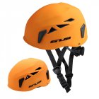GUB Outdoor Downhill Extension Cave Rescue Mountaineering Upstream Helmet Safety Hat Climbing Equipment Matte Orange_L