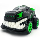GW127 Remote Control Car Stunt Inverted and 360 Rotation Cars Toys for Kids 2.4G Flash Lights Birthday Present Christmas Gifts RC Car green