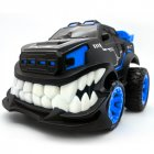 GW127 Remote Control Car Stunt Inverted and 360 Rotation Cars Toys for Kids 2.4G Flash Lights Birthday Present Christmas Gifts RC Car blue