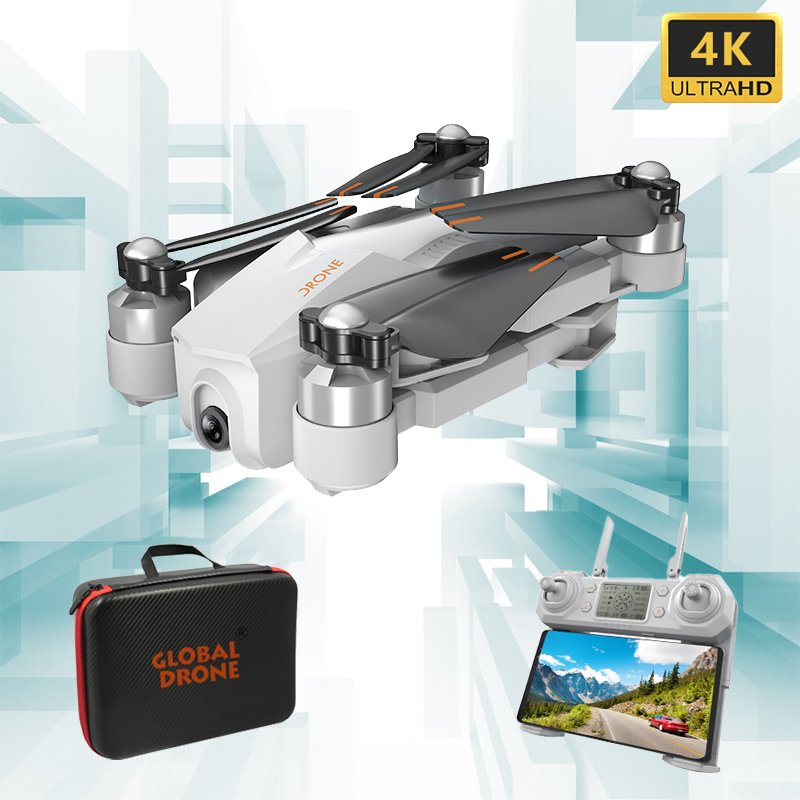 GW90 GPS Drones with 4K Camera HD Adjustable Gimbal Brushless Follow Me Wifi Quadcopter RC Dron VS ZEN K1 F11 SG906 1 battery