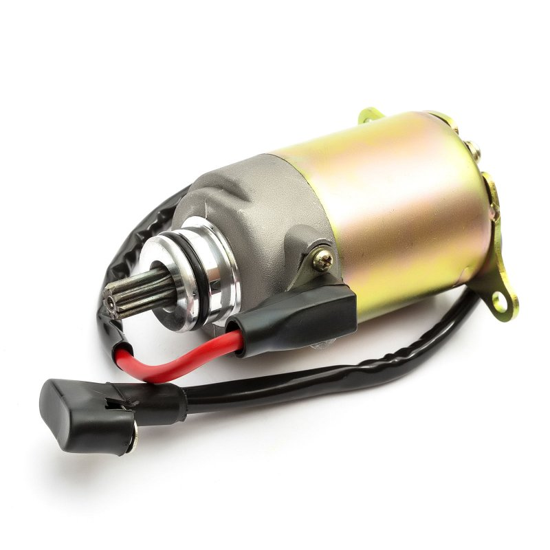 GY6 125cc / 150cc Quad Bike Scooter Starter Motor for Kazuma Dingo Falcon Redcat BTM with line