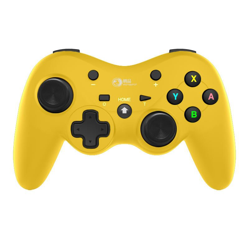 Game Console Gamepad Wireless-Bluetooth Gamepad For NSwitch Lite/Pro switch Game Joystick Controller yellow