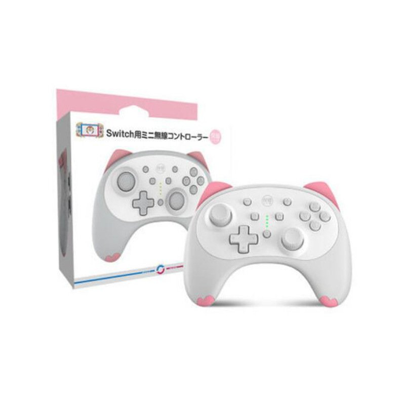Game Controller Wireless Joystick Bluetooth Gamepad for Switch/Switch lite/PC/Android/Steam white