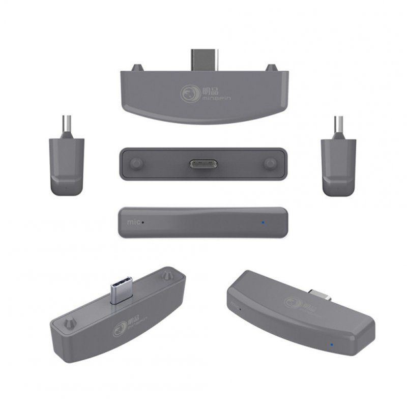 Gaming Wireless Bluetooth Audio Adapter USB Transmitter for Switch lite/PS4/PS3/PC gray