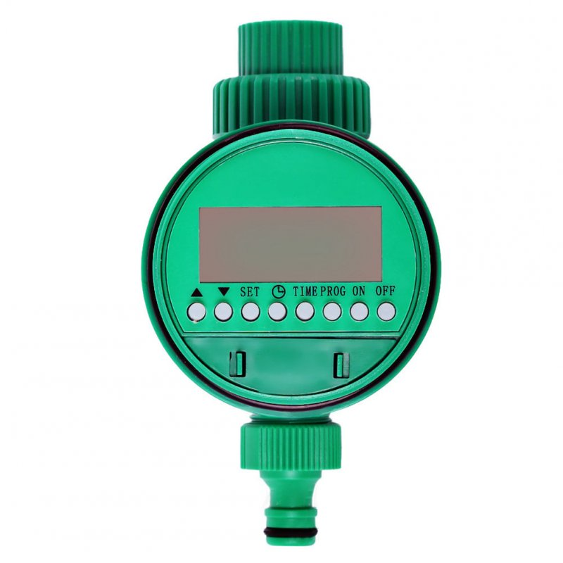 Garden Watering Timer Ball Valve Automatic Electronic Water Timer Home Garden Irrigation Timer Controller System green