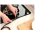 Gas Stove Gap Stripe Anti oil Sealing Strip Damp proof Adhesive Tape for Window Door Gap   black