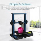 Geeetech A10 DIY 3D Printer Full color touch screen  Wi Fi connection  Auto Leveling  Large Printing Volume