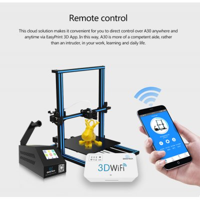 Wholesale Geeetech A30 DIY 3D Printer From China
