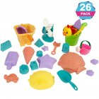 Geefia Funny Beach Sand Toy Tool Set