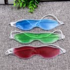 Gel Eye Mask Reusable Hot / Cold Therapeutic Patch Gel Pack for Migraine Eyes Fatigue Pain Relief Random Color Random loans [19.5*5CM]