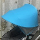 General Summer Baby Stroller Anti-UV Awning Umbrella Sunshade for Kids blue