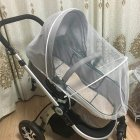 General Summer Baby Stroller Thickened Bracket Mosquito Net   White bracket_Trolley umbrella general