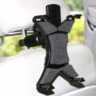 General Tablet PC Bracket Car Rear Headrest Flat Holder iPad Lazy Bracket black