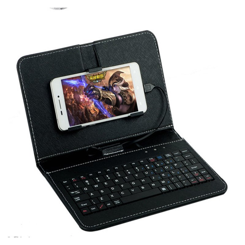 General Wired Keyboard Flip Holster Case