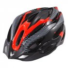 Generic Cycling Bicycle Adult Bike Safe Helmet Carbon Hat 19 Holes Red