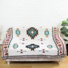 Geometry Throw Blanket Sofa Cobertor Hanging Tapestry for Sofa Bed Plane Travel