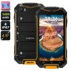Geotel A1 is a rugged smartphone that runs on an Android 7 0 OS  With its IP67 design  this Android phone keeps you connected no matter where you re located