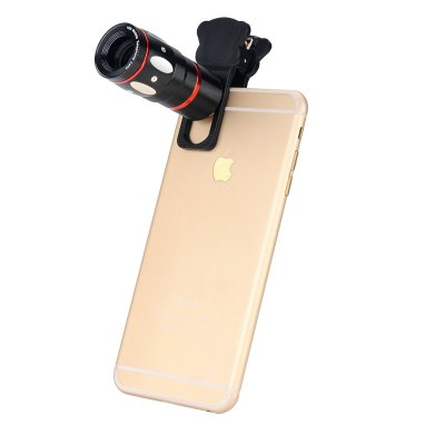 Universal 4-in-1 Smartphone Lens Kit (Black)