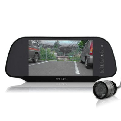 7 Inch Rear View Mirror + Rear View Camera