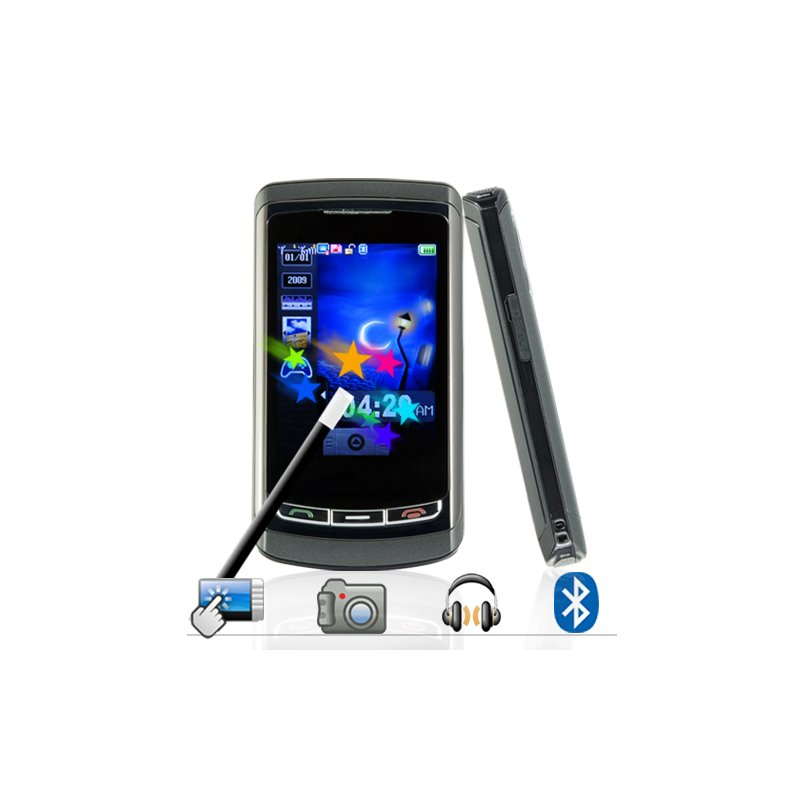 The Pegasus - Quadband Dual SIM Touchscreen Worldphone