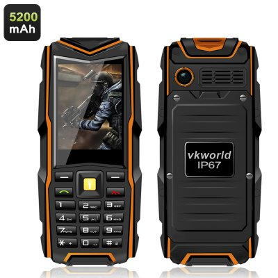 VKworld Stone V3 GSM Phone (Orange)