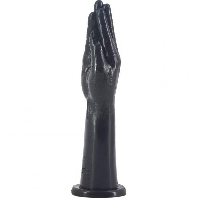 Giant Dildo Realistic Big Hand Dildos With Super Strong Suction Cup 30.2 cm Large Size Anal Plug Sex Toy Penis for Women  black