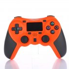 Bluetooth Gamepad Wireless Joystick Controller for Playstation 4 PS4 Game Console Support Android TV orange