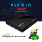 A5X Plus Smart TV Box for Android 9.0 Rk3328 Quad Core 4K H.265 HDR10 USB3.0 2G/16G Mini Media Player Australian regulations