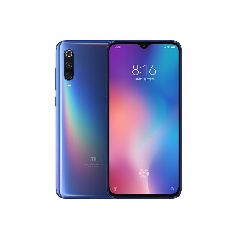 Mi 9 6+128G 6.39 Inch Gaming Good Camera Blue