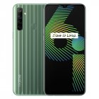 Global Version realme 6i 4GB 128GB 6.5'' Mini-drop Fullscreen Helio G80 Octa Core 48MP AI Quad Camera 5000mAh Battery green