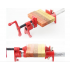 Gluing Pipe Clamp Woodworking Vice Hand Tools Quick Wood Working Clamp for 27mm Galv Pipe 6 points hose clamp