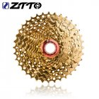 Gold 10-speed Flywheel 10 Speed 11-36t Cassette 10s 36t Sprocket 10v K7  Golden