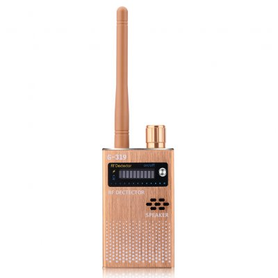Gold US Wireless RF Signal Detector