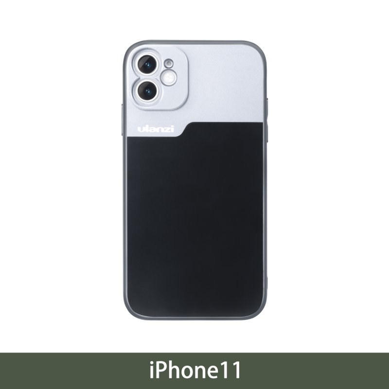 17mm Thread Phone Case for iPhone 11/11 Pro/11 Pro Max Anamorphic Lens Protect Smartphone Shakeproof Solid Cover For iPhone11