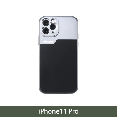 17mm Thread Phone Case For Iphone 11 11 Pro 11 Pro Max Anamorphic Lens Protect Smartphone Shakeproof Solid Cover For Iphone 11 Pro