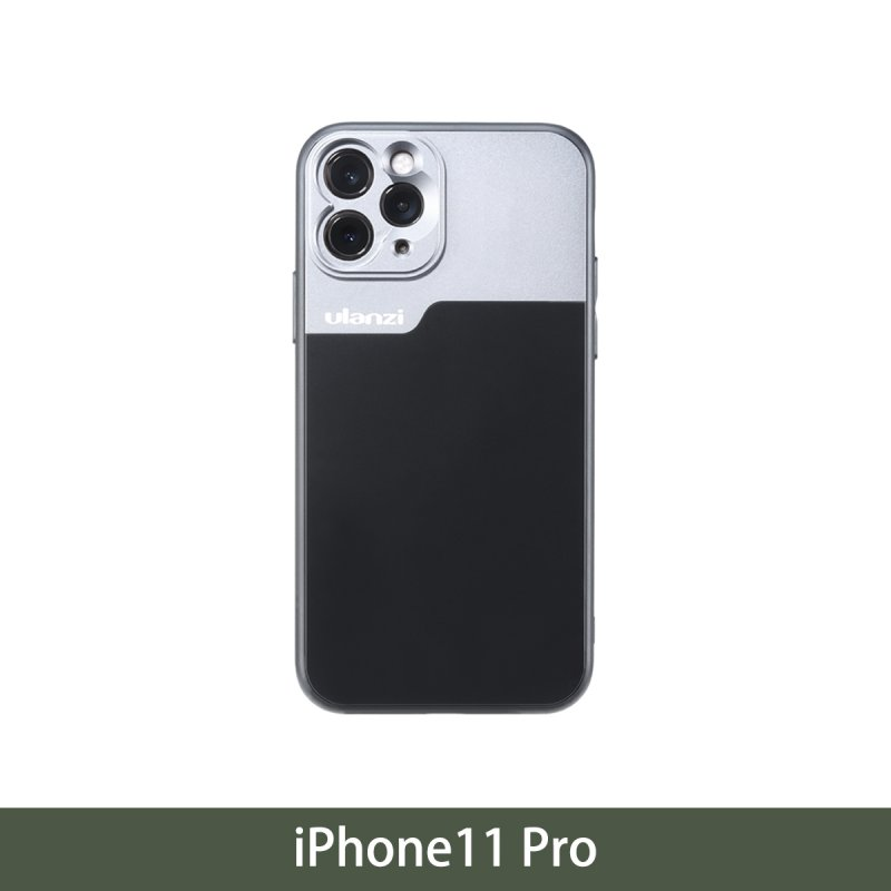 17mm Thread Phone Case for iPhone 11/11 Pro/11 Pro Max Anamorphic Lens Protect Smartphone Shakeproof Solid Cover For iPhone 11 Pro