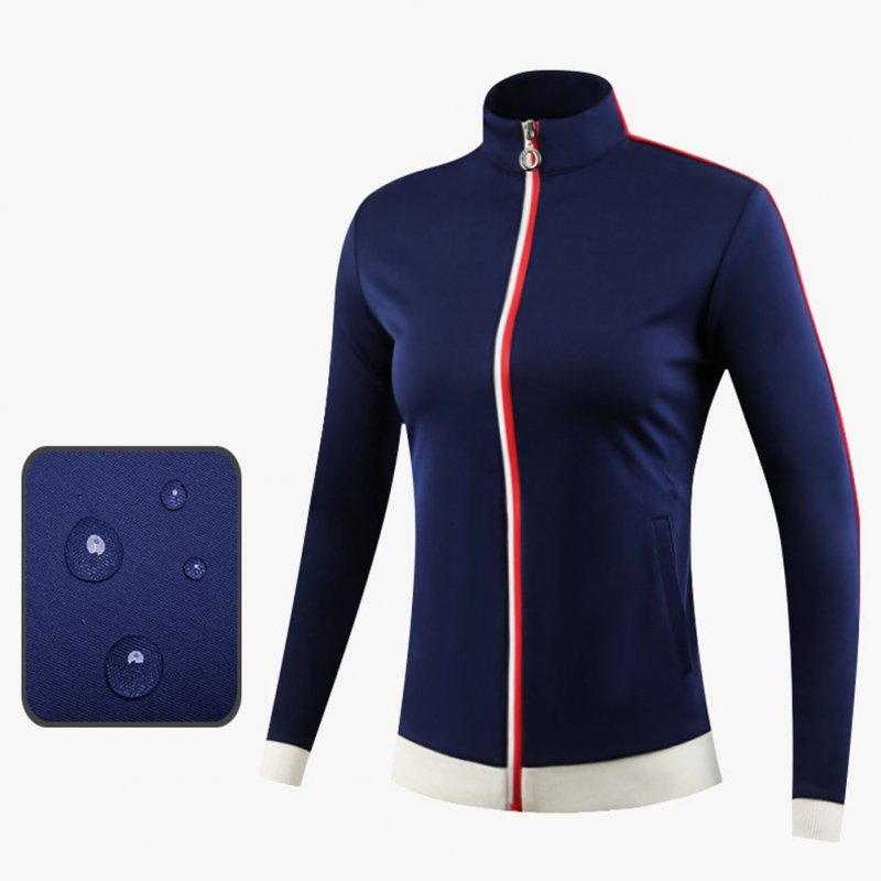 Golf Clothes Autumn Winter Wind Coat Female Sport Jacket Long Sleeve Top