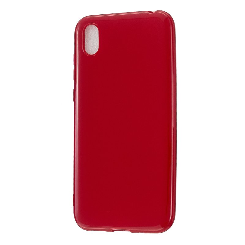 For Redmi 7/7A/Note 7/Note 7 Pro Cellphone Cover Overall Protection Soft TPU Anti-Slip Anti-Scratch Phone Case Rose red