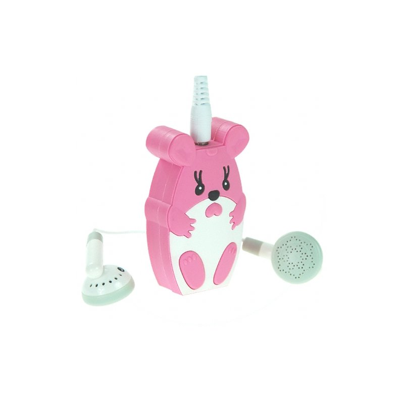 Cute Pink Mouse MP3 Player
