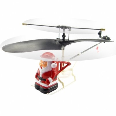 Santa Helicopter - Amazing RC Micro Copter