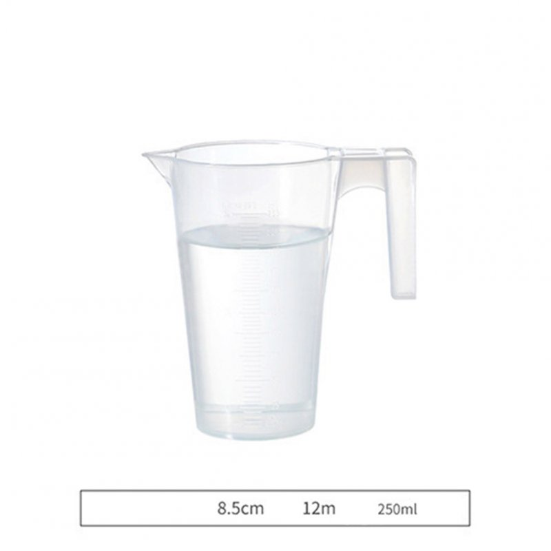 Graduated Measuring Cup with Scale for Baking Beaker Liquid Measure Jug Cup Container small