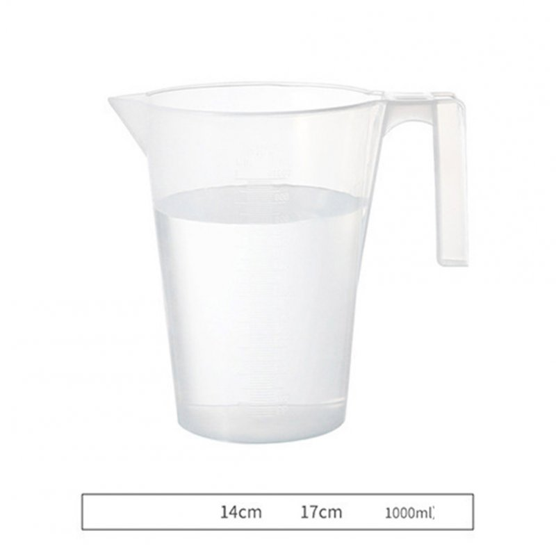 Graduated Measuring Cup with Scale for Baking Beaker Liquid Measure Jug Cup Container large