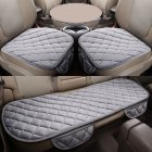 Gray 3 Pcs Soft Comfortable Car Cushion