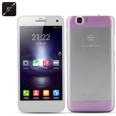 Green Orange GO N1 5 Inch Phone (Purple)