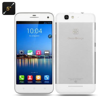 Green Orange N1-Y Android Smart Phone (White)