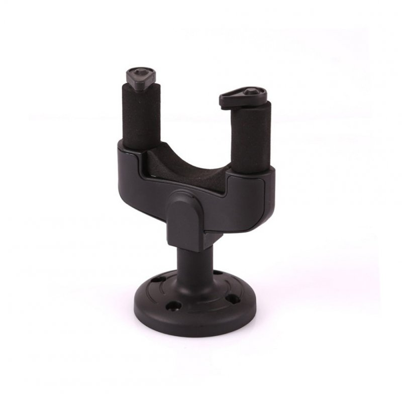 Guitar Hanger Stand Wall Mount Holder Hook for Electric Guitar Acoustic Guitar Mandolin Ukulele black