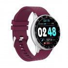 H30 Smart Bracelet Waterproof Blood Pressure Heart Rate Monitor Watch purple